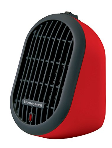 Honeywell HCE100R Heat Bud Ceramic Heater, Red ()