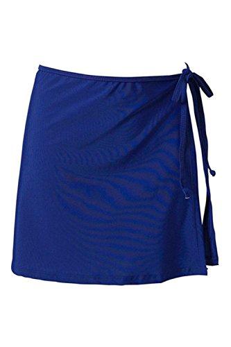 Jupe Blue Perdes Bikini La Plage Femme Bain De lgante Est sous Couvrir La Strape Maillots De De zOFqwxa