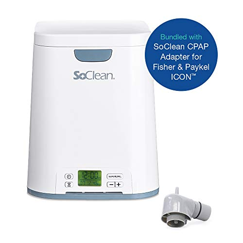 (SoClean 2 + Fisher & Paykel ICON Adapter (SoClean 2 CPAP Cleaner and Sanitizer Bundle with Free Adapter))
