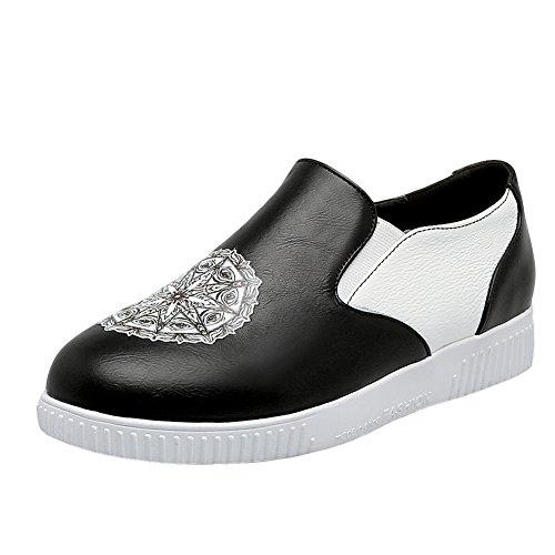 Mocassini Slip-on In Pelle Latasa Womens Shoes Nero C