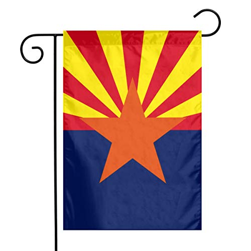 Hhill Swater Arizona State Flag Garden Flags 12x18