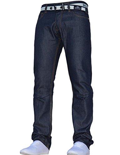 Taille Droite Jeanbase Ceinture Jeans Libre Gamo Classique Jambe Coupe Ceintures Ceinture Normale Élégant Bleu Crosshatch Et Foncé Hommes Tous 8nwPkOX0