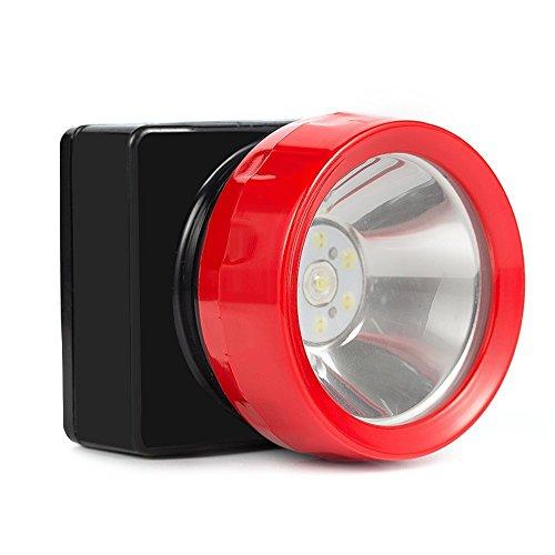 Kohree Wireless KL3.2LM 75 Lm LED Spot Light Head Lamp for Coal Mining, Hunting, Fishing, Camping, Waterproof 4500Lux 3200mAh