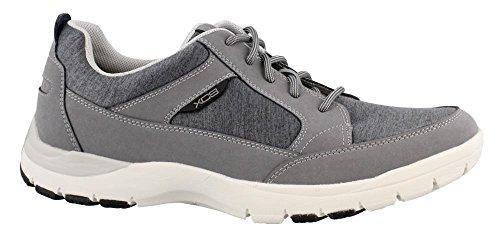 Rockport Men's Kingstin Blucher Shoe, Dark Grey, 10 M US ()