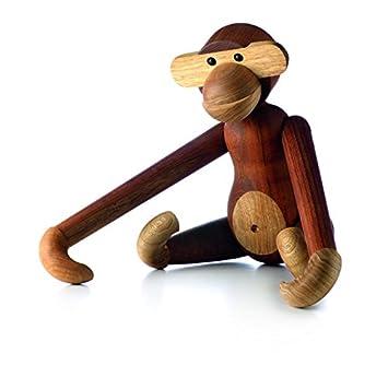 Daenisches design.Holzfigur Affe//Bär... 9 cm hoch.