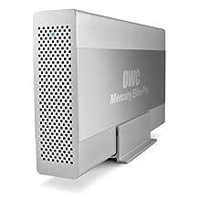 Other World Computing Mercury Elite Pro 2TB External Hard Drive, 7200 RPM, 64MB Cache, eSATA, USB 3.0, 2x Firewire 800