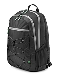 "HP 1LU22AA Active 15.6"" Backpack, color Negro/Verde Menta"
