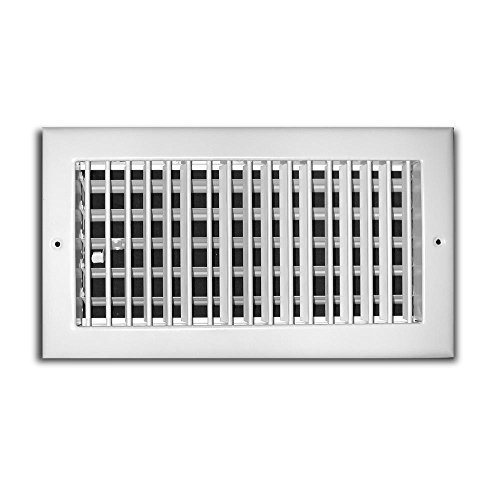 TruAire 20 in. x 6 in. 1 Way Aluminum Adjustable Wall/Ceiling Register