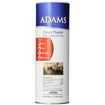 carpet powder. adams flea \u0026 tick carpet powder 16oz