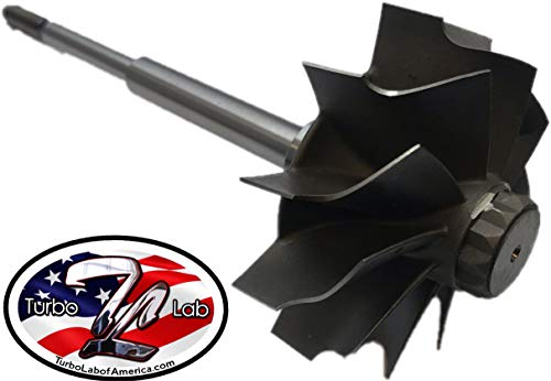 Holset HX40 Turbine Wheel Shaft 64 x 76mm 12 Blade