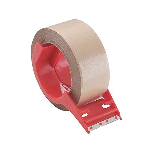 - Staples 474613 Paper Packaging Tape with Dispenser 1.89