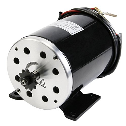 (ZXTDR 36V 800W Brush Motor For Electric Go Kart Scooter E Bike Motorized Bicycle ATV Moped Mini Bikes | #25H Chain - 11 tooth)