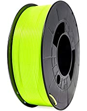 Winkle PLA HD Filament 1,75 mm fluorescerend geel filament voor 3D-printen, 1000 kg spoel