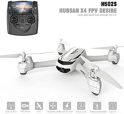 Hubsan H502S X4 Drone GPS 720P HD Cámara 5.8Ghz FPV 2.4Ghz RC ...