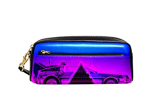Car Big Capacity Oxford School Pencil Case Pen Bag Pouch Stationary Case with Double Zippers for Boys Girls Kids 8.1x2x3.3in ()