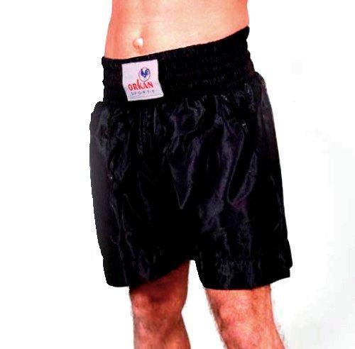 Tempête Sports Thai Boîte Pantalon le kickboxing Muay Thai Short Noir Orkansports