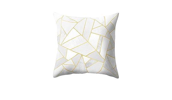 Fulijie Fundas de Almohada de algodón, Lino, diseño ...