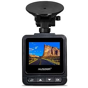 AUSDOM Dash Cam A261, 1080P&1296P Car Cmera Dvr with GPS, G-Sensor ,WDR for Auto Record, 2 Inch View Screen Auto Car Dashboard Camera