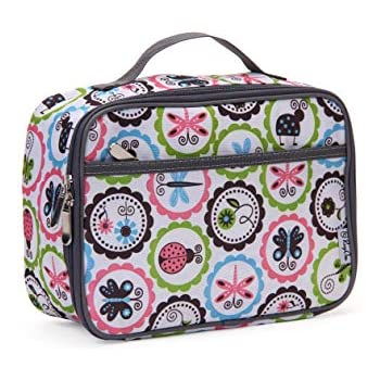Extremely Durable Soft Lunchbox Beautiful Design /& An Ideal Gift Insulated Nylon Kids Lunch Box Makes It Easy To Carry Container Reusable Leak Proof School Lunch Bag for Boys and Girls