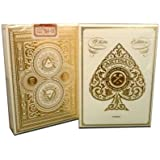 White Artisan Playing Cards By Theory11 MFG Bicycle United States Playing Card Company by Theory