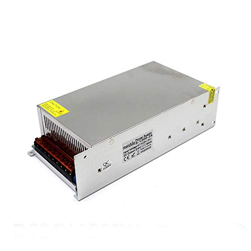 24V 50A 1200W LED Driver Switching Power Supply(SMPS)110VAC-DC24V Monitoring power supply Industrial Power Transformer CCTV