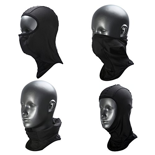 Weanas Balaclava - Windproof Ski Mask - Cold Weather Face Mask Motorcycle Neck Warmer - Tactical Balaclava Hood - Super Comfy Hypoallergenic Moisture Wicking - Male Face Ideal