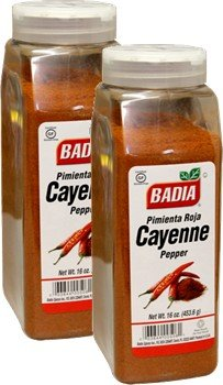 Badia Pepper Red - Ground (Cayenne) 16 oz Pack of 2 by Badia