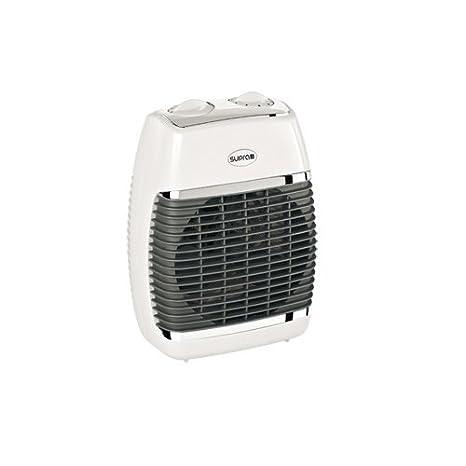 Supra SB Collection - Calefactor para baño, aire caliente y frío, de pared o portátil, 2500 W, color blanco: Amazon.es: Hogar