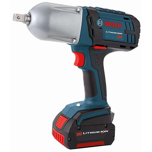 Bosch HTH181-01 18-Volt Lithium-Ion 1/2-Inch Square Drive Impact Wrench Kit with 2 Batteries,...