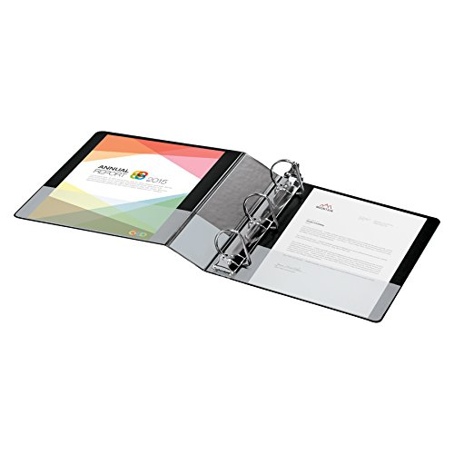 : Cardinal Performer Reference Non-Locking Slant-D Ring Binder, 2-Inch, Black (XV532)