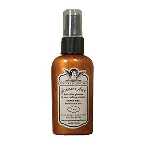 Tattered Angels 1-Piece 2 oz Glimmer Mist Walnut Gold by Tattered Angels