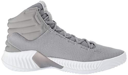 Onix Men's Originals Pro Light Basketball adidas 2018 White Onix Light Bounce Shoe qUPdFPW5H