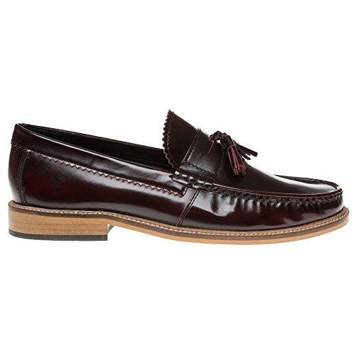 Lambretta Tassle Loafer Homme Chaussures Bordeaux
