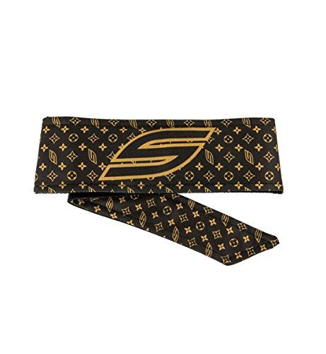 Social Paintball Long Tie Headband, Social LV Brown by Social Paintball