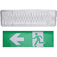 Lámpara de emergencia LED, luz de emergencia, salida