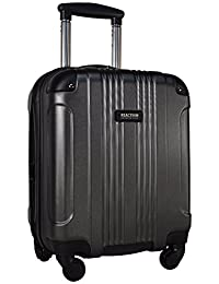 """Kenneth Cole Reaction Out of Bounds 16"""" Expandable 4-Wheel Upright Carry-On Spinner (Charcoal)"""