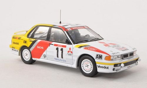 Mitsubishi Galant VR-4, No.11, RalliArt, tour de Corse, 1991, Model Car, Ready-made, IXO 1:43