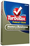 Software : TurboTax Home & Business Federal + State + eFile 2008 [OLD VERSION]