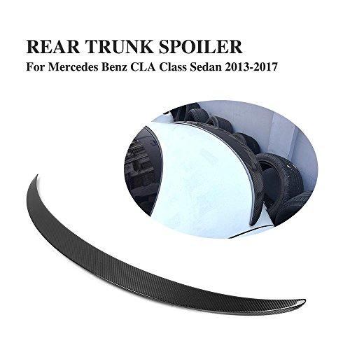 Class Spoilers (JCSPORTLINE Carbon Fiber Rear Trunk Spoiler for Mercedes CLA 250 2013 2014 (CLA Class))
