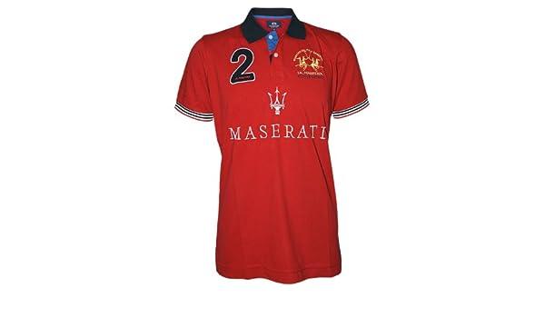 LA MARTINA Hombre Diseñador Polo Shirt Camisetas - MASERATI -XXL ...