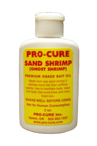 Pro-Cure Sand Shrimp (Ghost Shrimp) Bait Oil, 2-Ounce