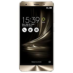 ASUS ZenFone 3 Deluxe 5.7-inch Glacier Silver 64GB Smartphone [ZS570KL] 6GB RAM, 23MP Rear / 8MP Front camera, 4K video, Quick Charge 3.0, Unlocked Daul SIM
