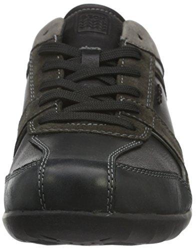 Blackc9999 Low Schwarz Top B Herren Geox Pavel U gHTazxqR
