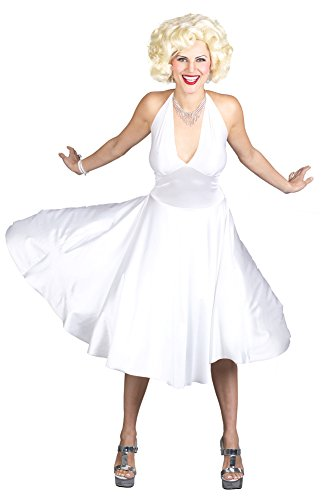 [Adult-costume Marilyn Monroe Deluxe Sm-md 2-8 Halloween Costume] (Marilyn Monroe Deluxe Adult Costumes)