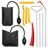 Full Professional Automotive Car Tool Kit with Easy Entry Long Reach Grabber, Air Wedge, Non Marring Wedge and PVC Bag for Cars Truck