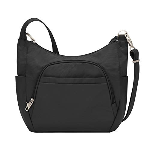 Travelon-Anti-Theft-Cross-Body-Bucket-Bag-Black-One-Size