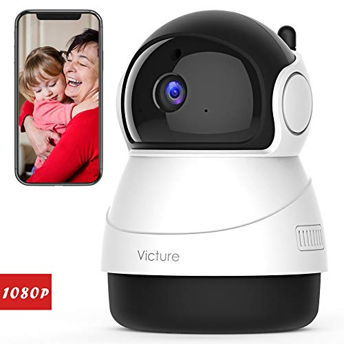 Victure 1080P FHD WiFi IP Camera Wireless Indoor Camera with Night Vision...