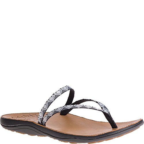 Chaco Women's Abbey Flip-Flop, Peaks Bow, 9 Medium US by Chaco