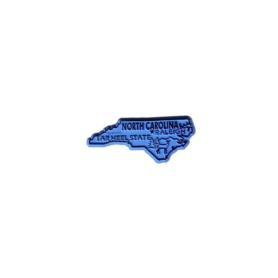 382428   North Carolina Magnet 2D 50 State Light Blue Case