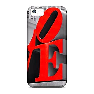 Durable Love Back Case/cover For Iphone 5c